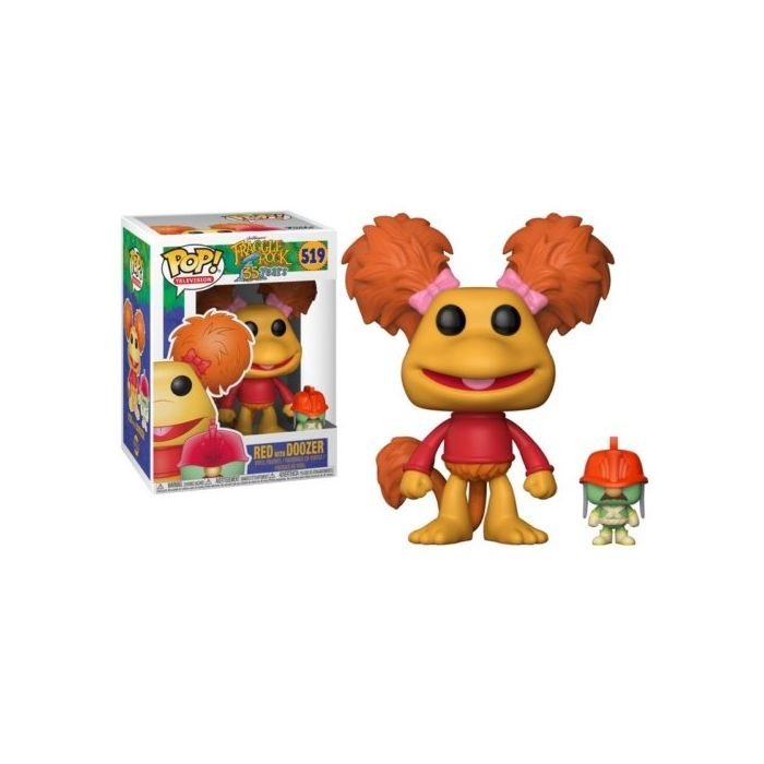 FUNKO POP! TELEVISION: Fraggle Rock - Red w/Doozer (New)