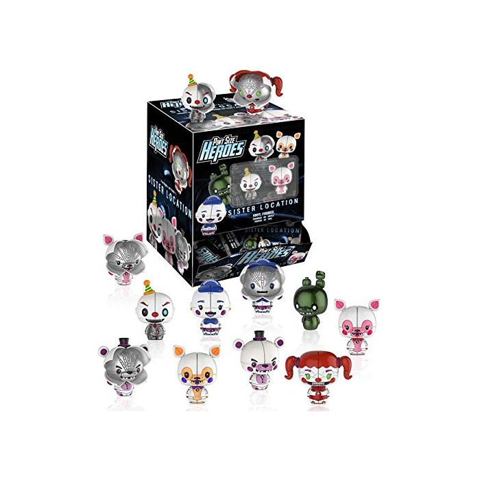 Funko Pint Size Heroes – Five Nights at Freddy's Sister Location: One Mystery Figure (New)