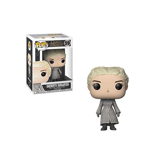 Funko 28888 (White Coat) Pop Vinyl Game Of Thrones S8 Daenerys Figure, Multi (New)