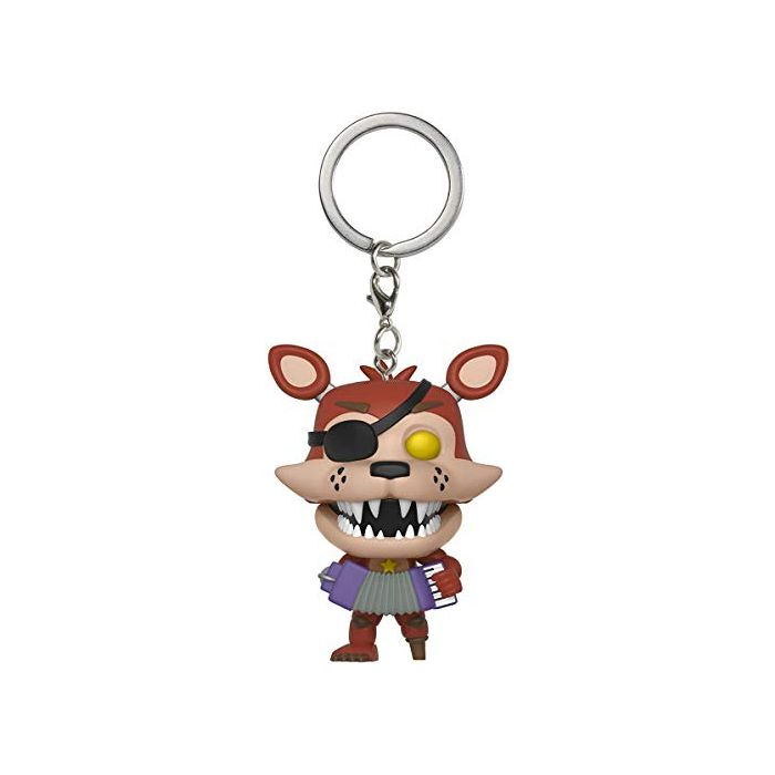 Pocket POP! Keychain: FNAF Pizza Sim: Rockstar Foxy (New)