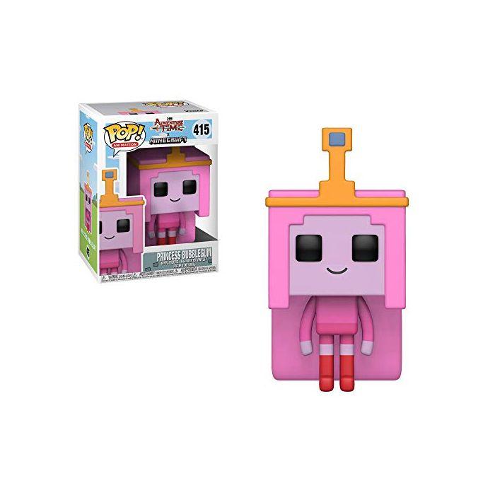 Funko 32253 POP Vinyl: Adventure Time/Minecraft: Princess Bubblegum, Multi (New)