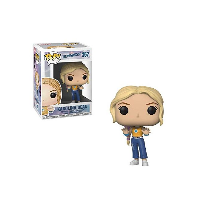 Funko 32666 POP Bobble: Marvel: Runaways: Karolina, Multi, Standard (New)