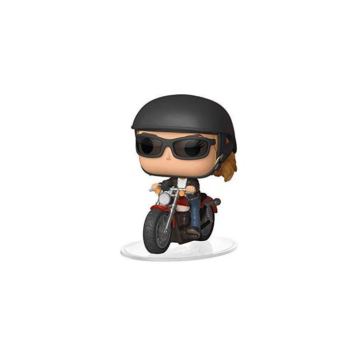 Funko 36418 POP Ride Captain Marvel-Carol Danvers on Motorcycle Collectible Figure, Multicolor (New)