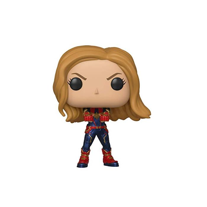 Funko 36675 POP Bobble: Avengers Endgame: Captain Marvel, Multi (New)