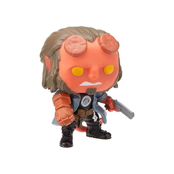 Funko 39079 POP Movies Hellboy with BPRD Tee Collectible Figure, Multicolor (New)