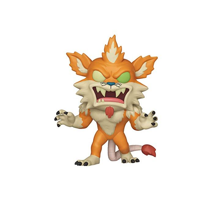 Funko 40251 POP Animation: Rick and Morty-Berserker Squanchy Collectible Figure, Multicolor (New)