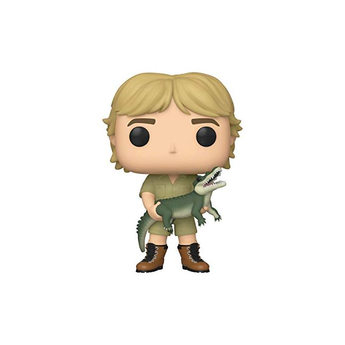 Funko 43977 POP TV: Crocodile Hunter-Steve Irwin Chase (Stlyes May Vary) w Collectible Figure, Multicolour (New)