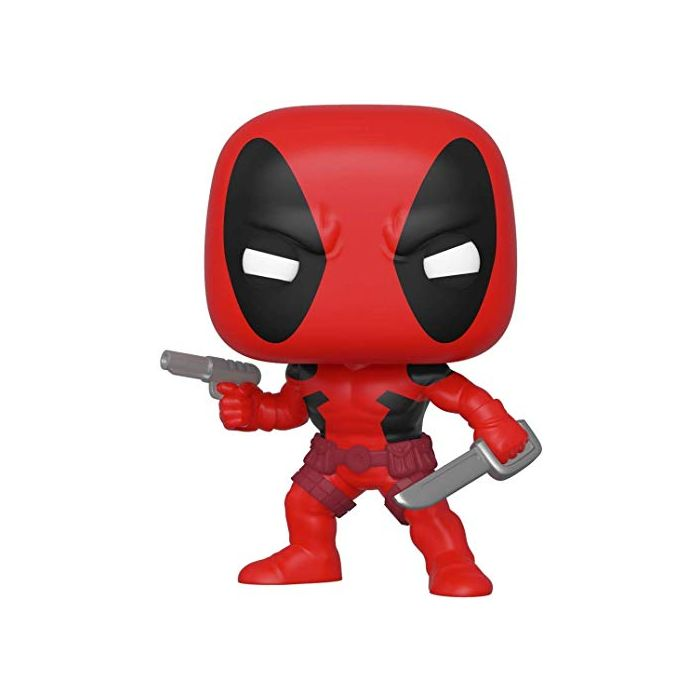 Funko 44154 POP. Bobble Marvel: 80th-First Appearance: Deadpool Collectible Figure, Multicolour (New)