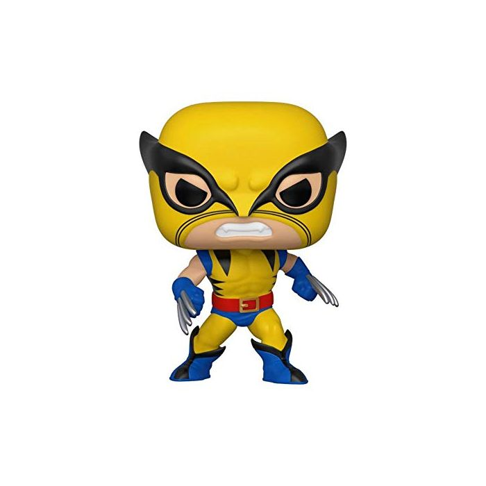 Funko 44155 POP. Bobble Marvel: 80th-First Appearance Wolverine Collectible Figure, Multicolour (New)