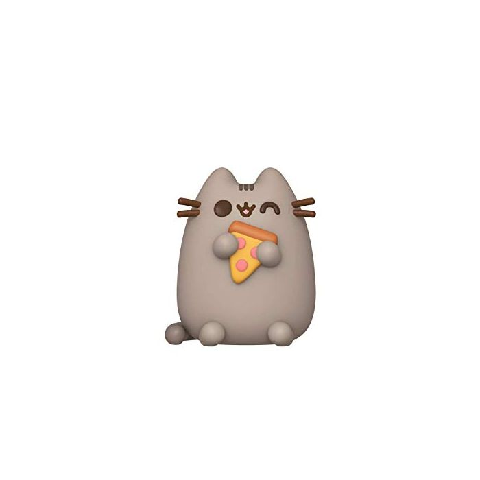 Funko 44523 POP Pusheen w/Pizza Collectible Toy, Multicolour (New)