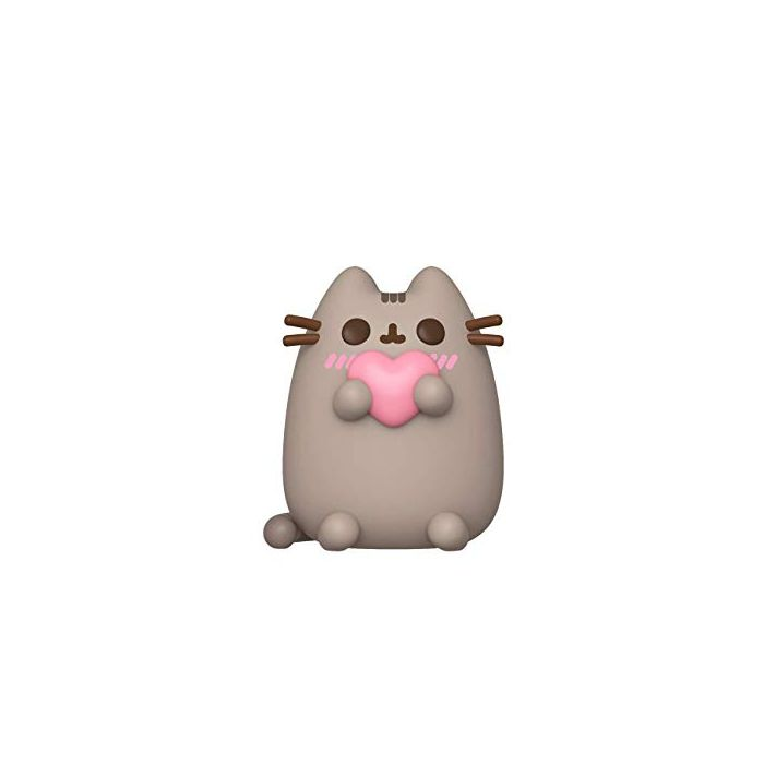 Funko 44529 POP Pusheen w/Heart Collectible Toy, Multicolour (New)