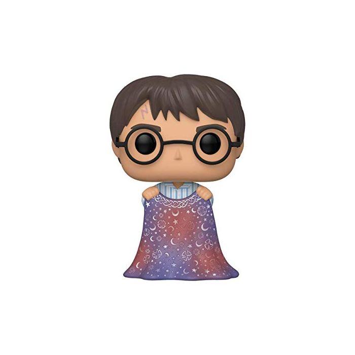 Funko 48063 POP Potter-Harry w/Invisibility Cloak Collectible Toy, Multicolour (New)