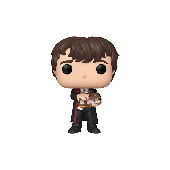 Funko 48068 POP Harry Potter-Neville w/Monster Book Collectible Toy, Multicolour (New)