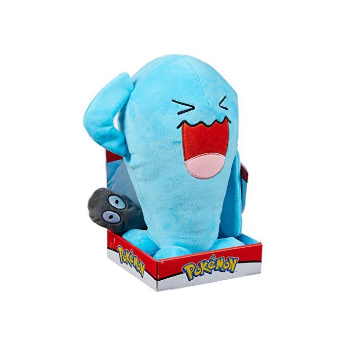 Pokemon 96372 Wobbuffet Plush Toy, Multi-Colour, 12-Inch (New)