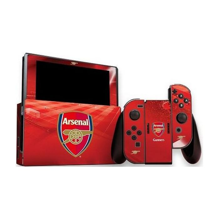 Official Arsenal FC - Nintendo Switch (Console & Controller) Skin (Switch)