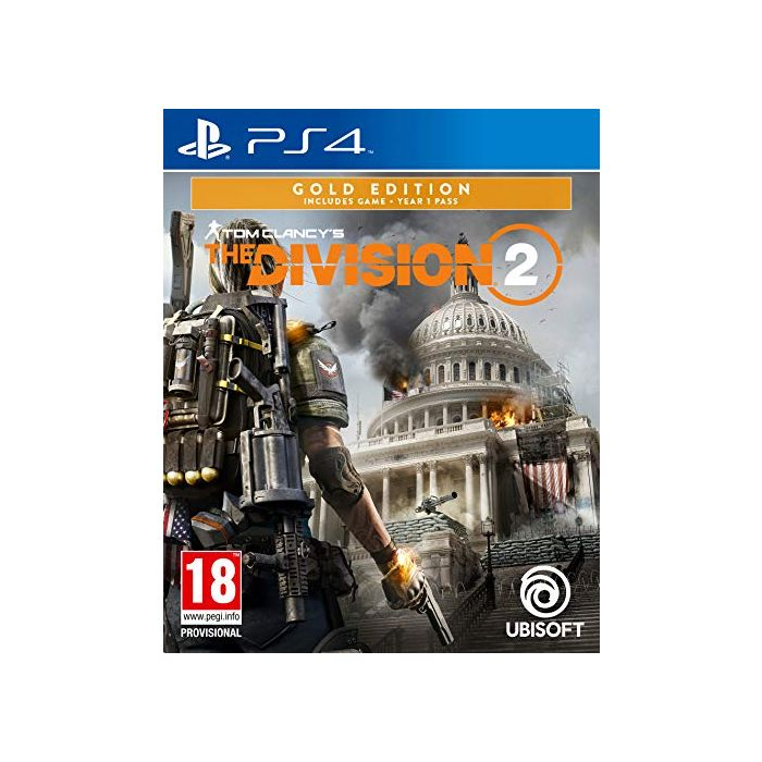 Tom Clancy's The Division 2 Gold Edition (PS4) (New)