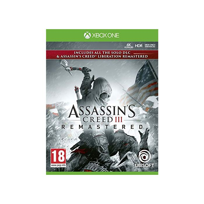 Assassin's Creed III Remastered (Xbox One) (New)