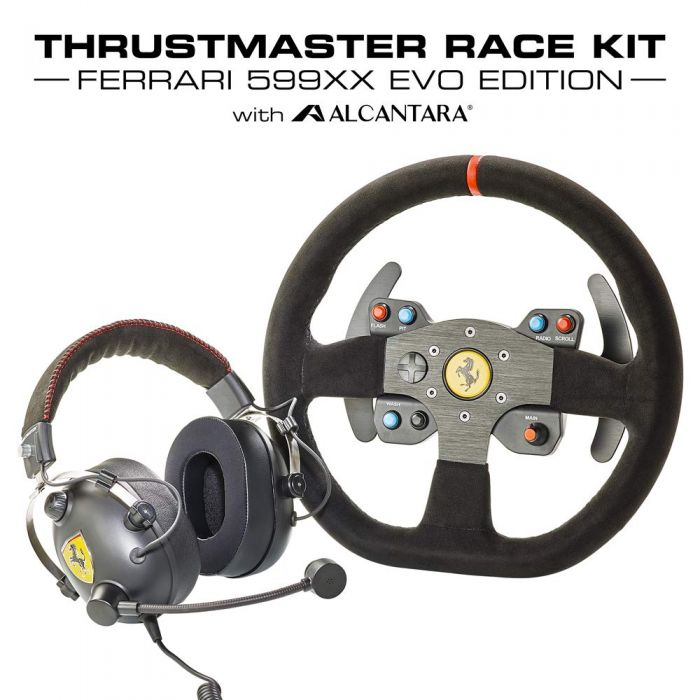 Thrustmaster TM Ferrari Race Kit Alcantara Edition (New)