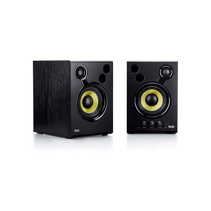 Hercules DJMonitor 42: 2 x 20 watts RMS active monitoring speakers (New)