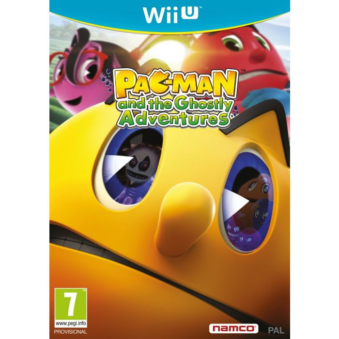 Pac-Man and The Ghostly Adventures HD (Nintendo Wii U) (New)