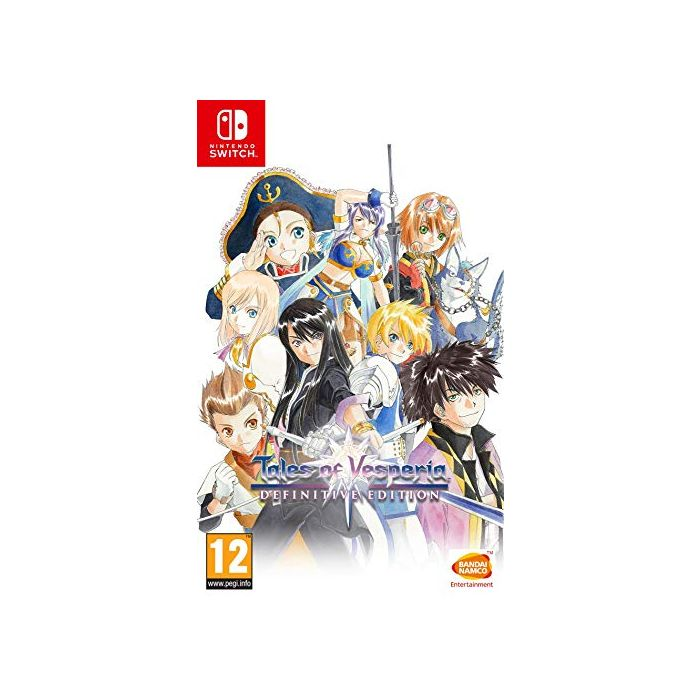 Tales Of Vesperia Definitive Edition (Nintendo Switch) (New)