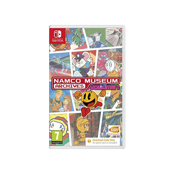 Namco Museum Archives Vol 1 (Code in Box) (Switch) (New)