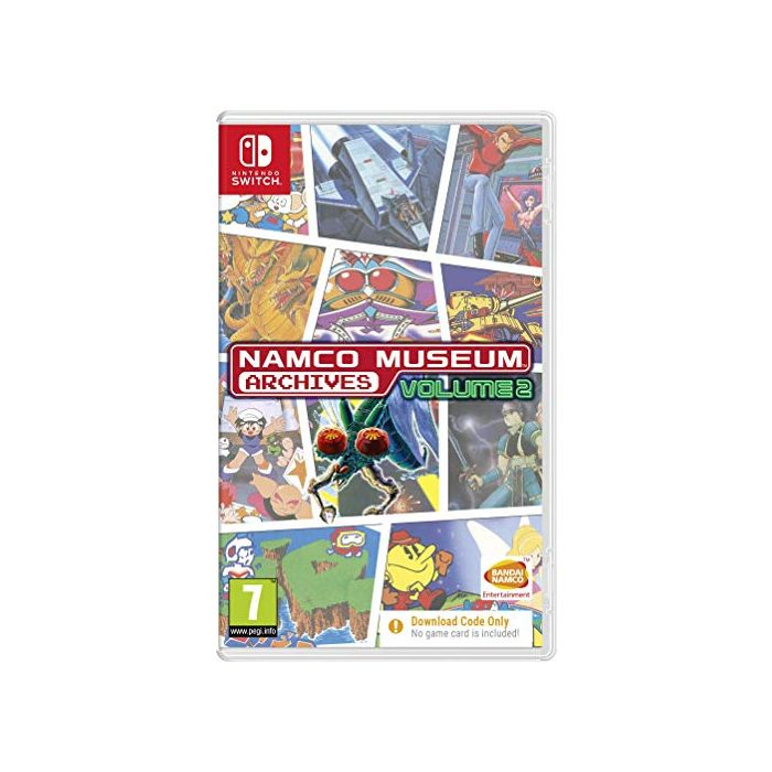 Namco Museum Archives Vol 2 (Code in Box) (Switch) (New)