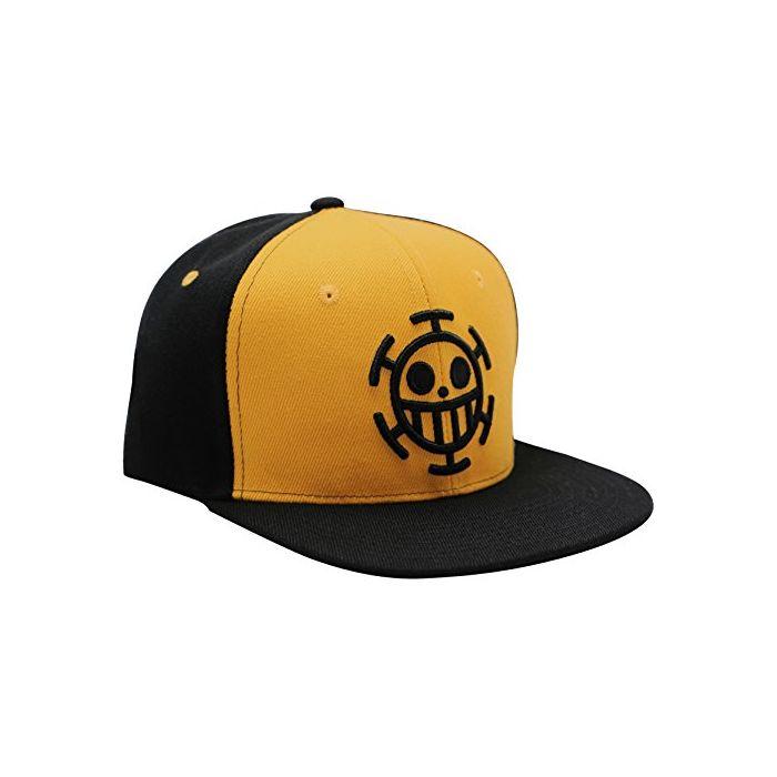 ABYstyle One Piece - Snapback Cap - Black & Yellow - Trafalgar (New)
