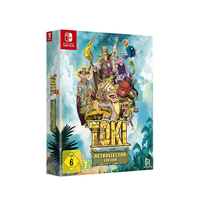 Toki Collector's Edition (Nintendo Switch) (New)