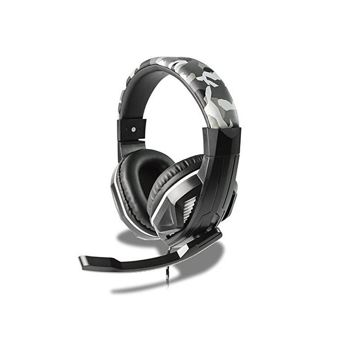 Steelplay - Steelplay - Wired Headset - HP42 (CAMO) (Multi) /PS4 (1 ACCESSORES) (New)