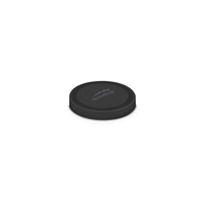 SpeedLink SL-690403-BK Puck 10 Fast Wireless Inductive Charger - Black (New)