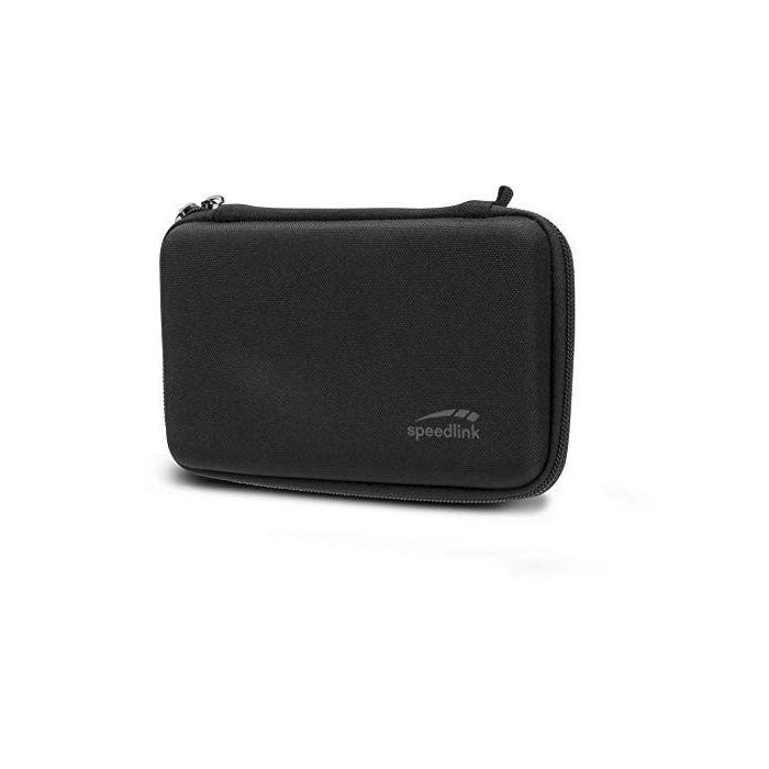 SPEEDLINK Caddy Padded Storage Case for Nintendo 2DS XL, Black (SL-540200-BK) (2DS) (New)
