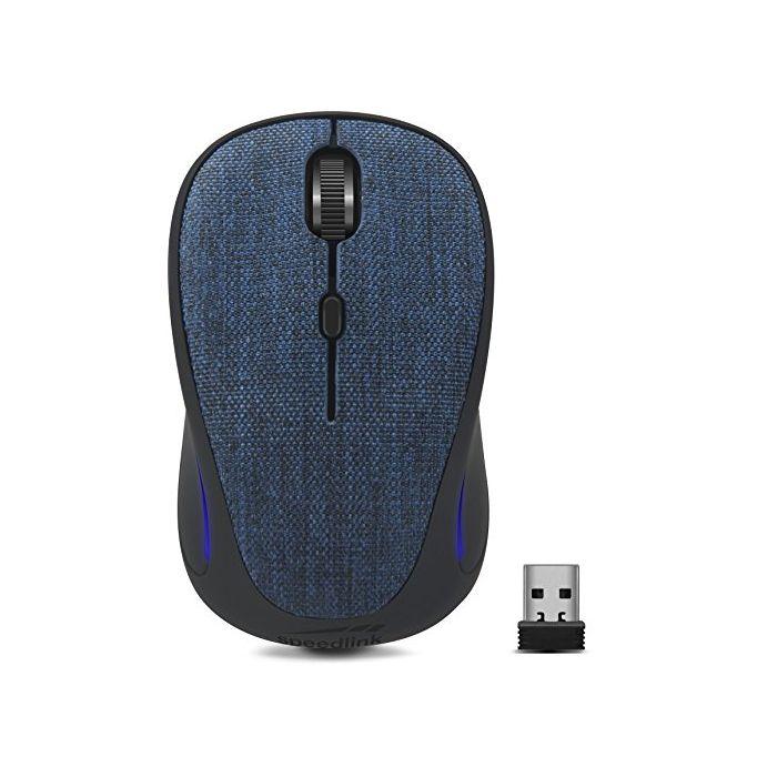 Speedlink Cius Silent Wireless Mouse (PC) (Blue) (New)