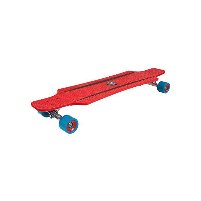 Hudora Unisex Child CruiseStar Longboard - Red/Blue, One Size (New)