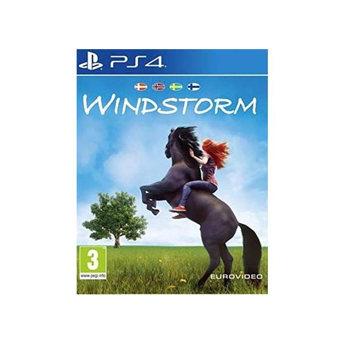 Eurovideo - Windstorm /PS4 (1 GAMES) (New)