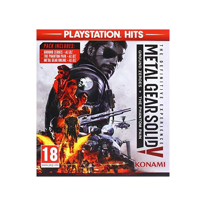 Metal Gear Solid V: The Definitive Experience (PlayStation Hits) (PS4) (New)