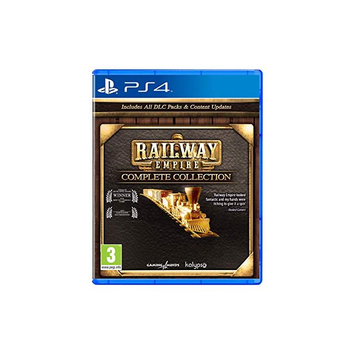 Railway Empire - Complete Collection (PS4) (New)