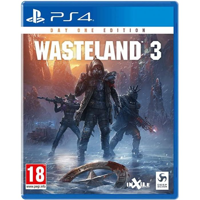 Wasteland 3 - Day One Edition /PS4 (New)