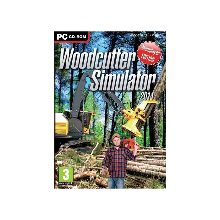 Woodcutter Simulator  (PC DVD) (New)