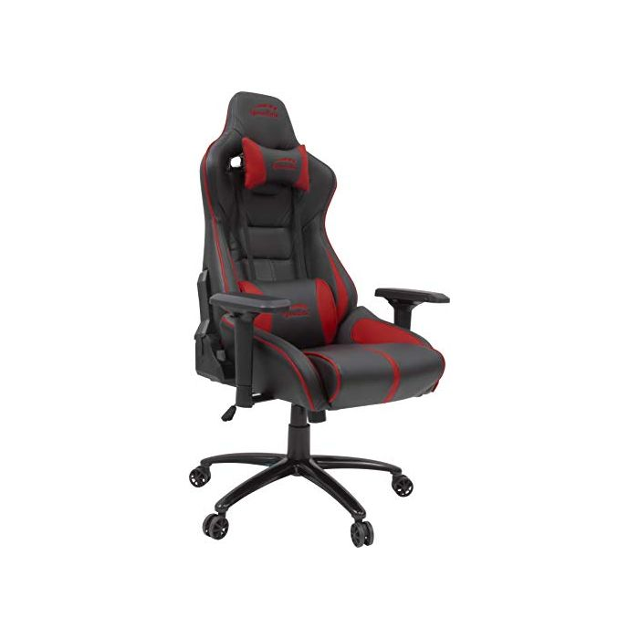 SpeedLink SL-660003-BKRD Ariac Gaming Chair with 4D Armrests and 360 Degree Swivel, Black/Red (New)