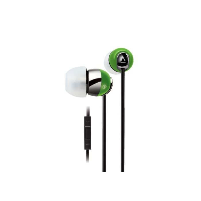 Creative HS-660i2 Noise-isolating in-ear Headset with in-line Remote and Microphone (Lime Green) (New)