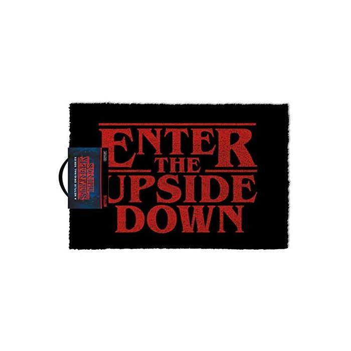 Stranger Things Doormat 40 x 60 cm Enter the World on the Reverse (New)