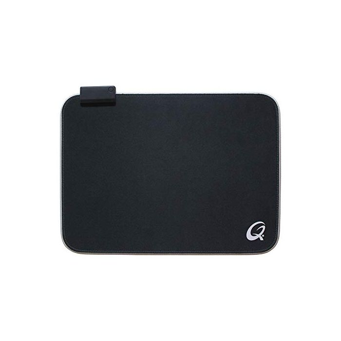 QPad FLX100 370 x 270 x 3 mm LED Illuminated Gaming Mousepad - Black (New)