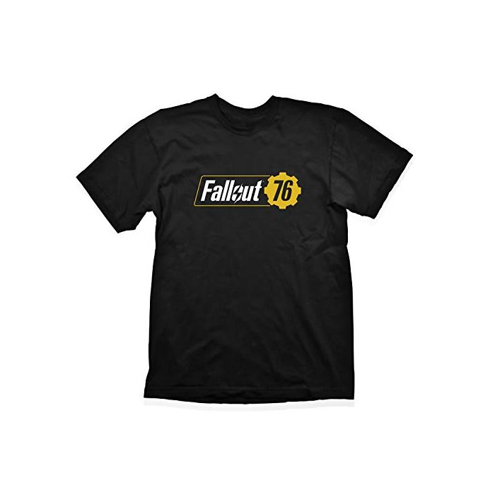 FALLOUT Vault 76 Logo T-Shirt, Male, Extra Extra Large, Black (GE6266XXL) (New)