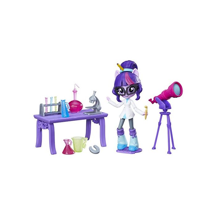 MY LITTLE PONY B9483ES00 Equestria Girl's Minis Twilight Sparkle Science Star Class Set (New)