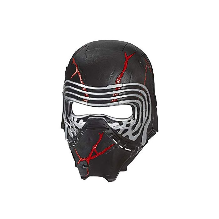 Star Wars: The Rise of Skywalker Supreme Leader Kylo Ren Force Rage Electronic Mask for Kids Role-Play and Costume Dress Up (New)