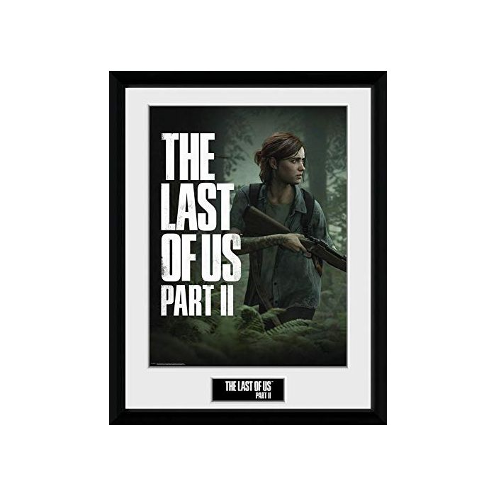 THE LAST OF US - Collector Print 30X40 - Part 2 - Key Art (New)