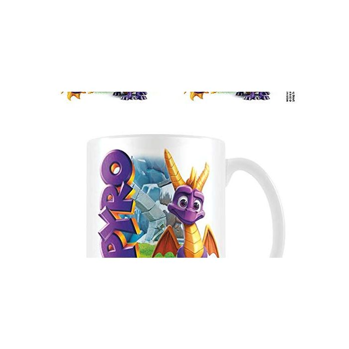 Pyramid International MG25145 Spyro (Good Dragon) Mug, Ceramic, Multicolour (New)