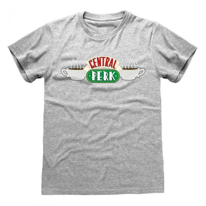 Friends Central Perk Grey Adults T-Shirt (New)