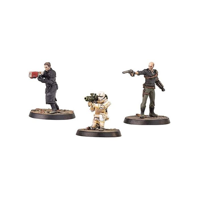 Fallout: Wasteland Warfare - Institute Covert Ops (Minis and Scenics Box Set) (New)